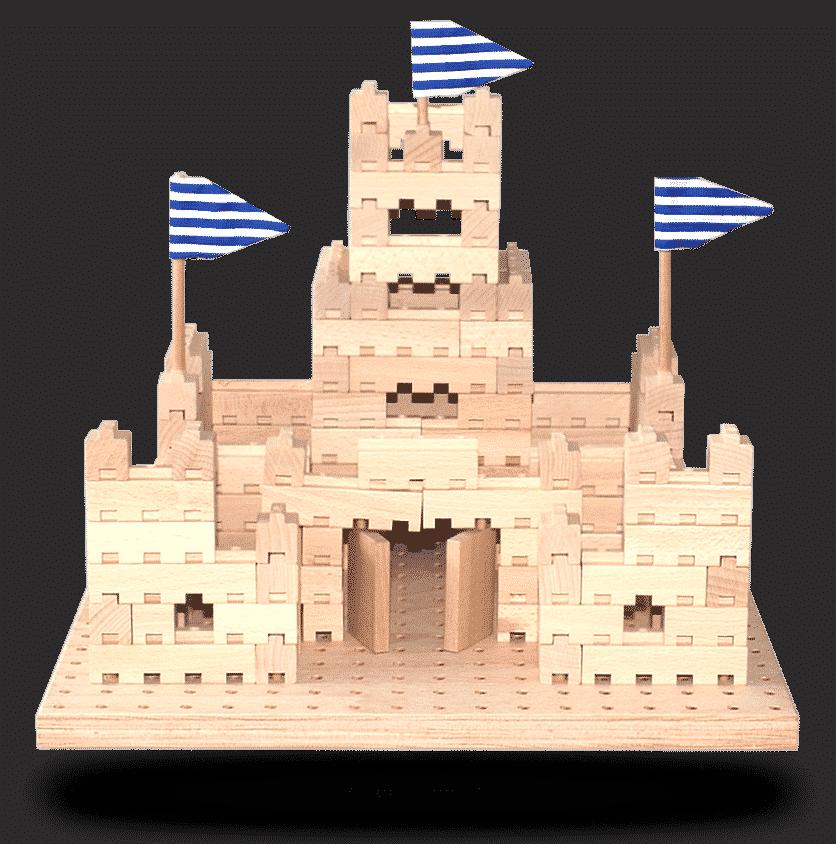 Dřevěná stavebnice Malý hrad